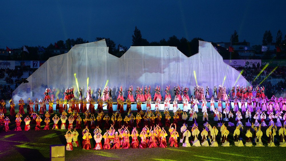 Праздник тюркских народов состоялся в Оше (ФОТО)