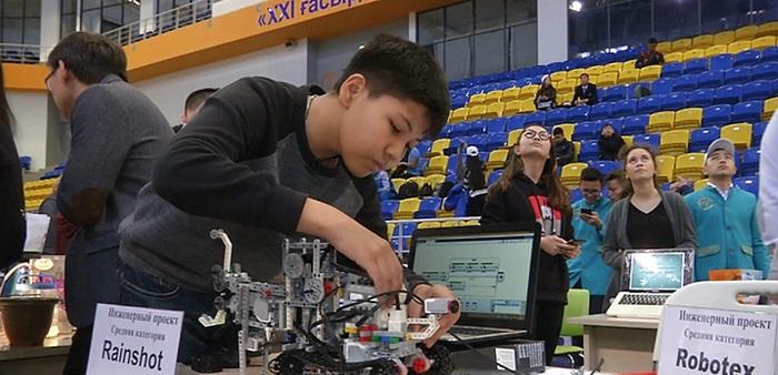 Решение экологических проблем с помощью роботов предлагают алматинские школьники
