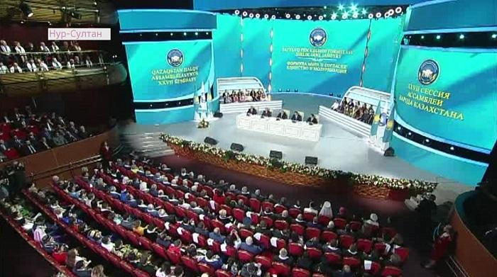 О вкладе Казахстана в укрепление мира рассказал Н. Назарбаев на сессии АНК
