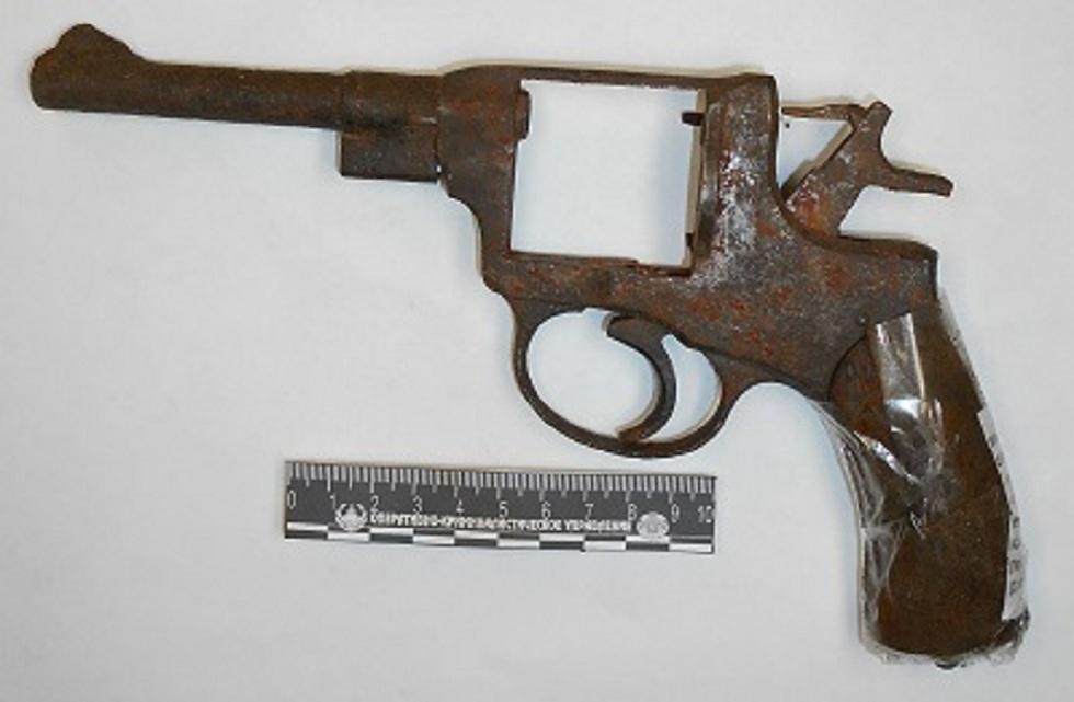 Жительница Петропавловска нашла раритетный револьвер у себя в огороде