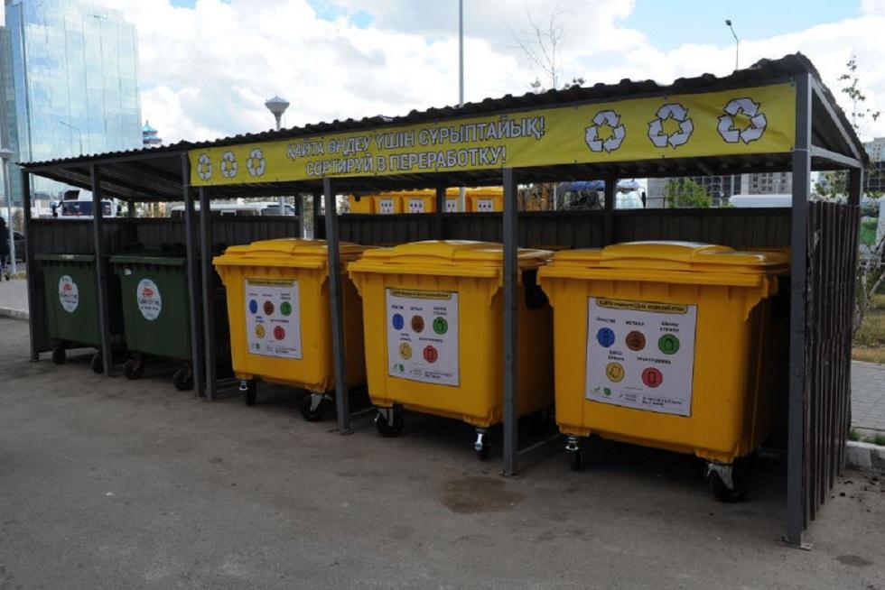 Чтобы продать: жители Нур-Султана крали мусорные контейнеры