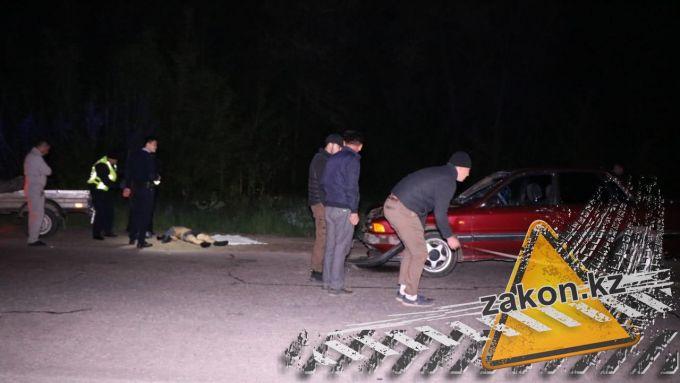 На Кульджинской трассе пешехода сбили насмерть