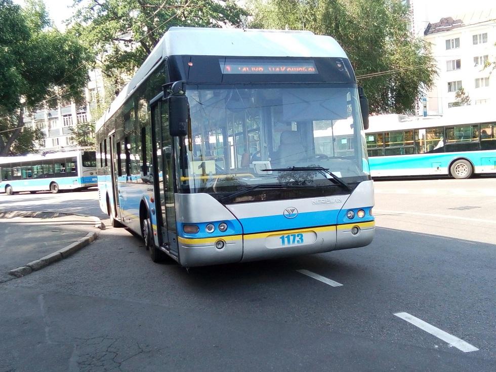 Троллейбусы 1-го и 12-го маршрутов прекращают движение в Алматы с 3 по 5 мая