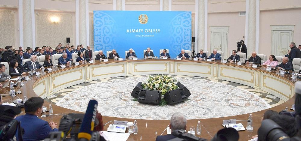 Как прошел визит Касым-Жомарта Токаева в офис ООН в Алматы