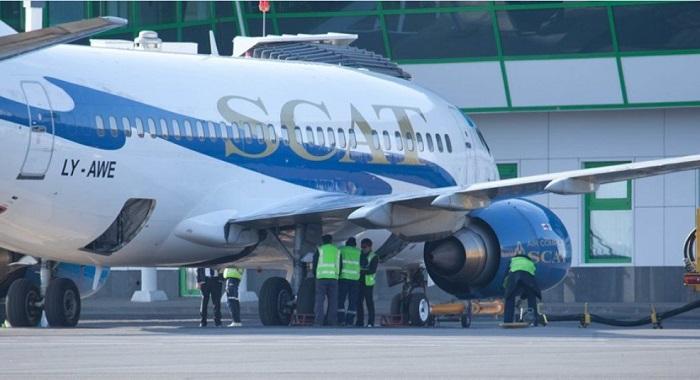 Разгерметизация салона: самолет SCAT экстренно сел в аэропорту Нур-Султана
