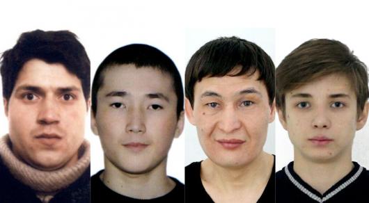 Полиция Алматы обнародовала фото четырех карманников