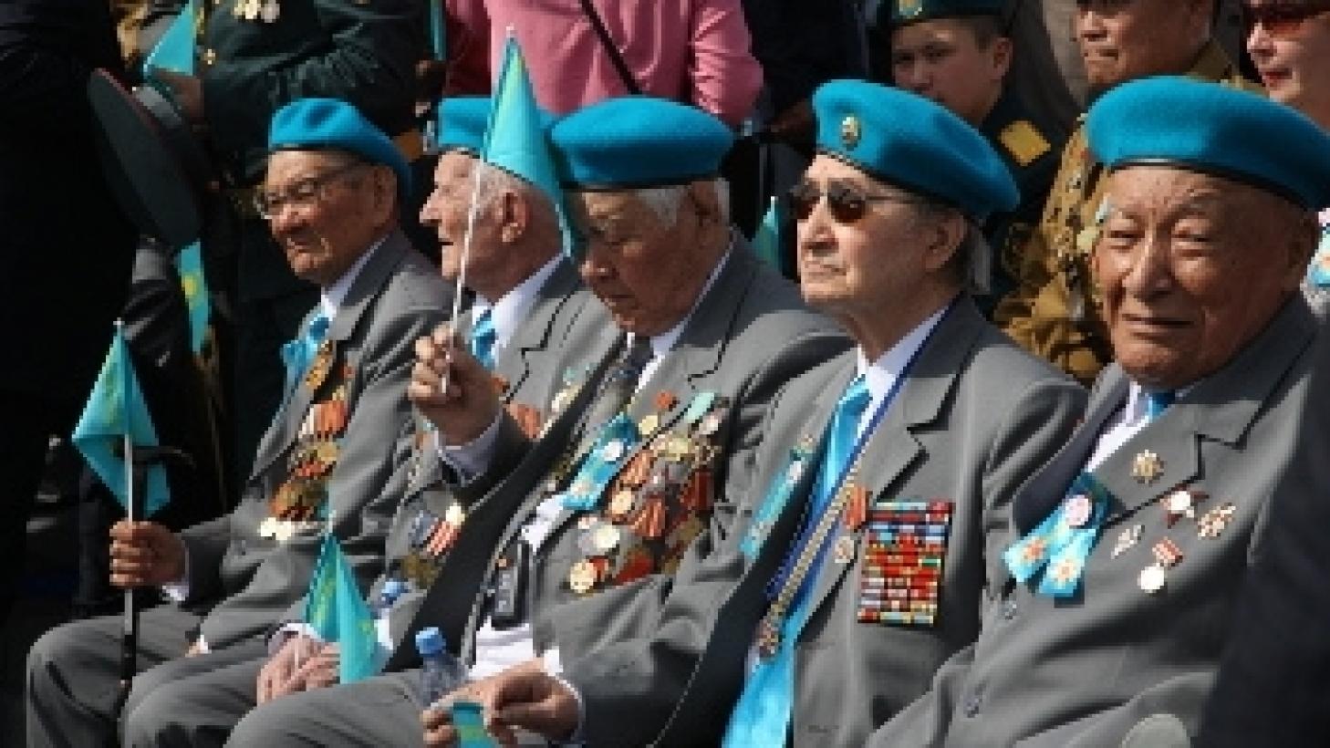 Выплаты ветеранам ВОВ в Алматы увеличили в 2 раза по предложению акима