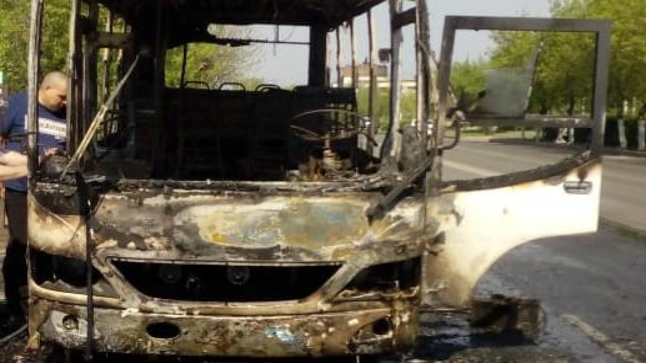 В Петропавловске за два дня сгорели 3 автобуса