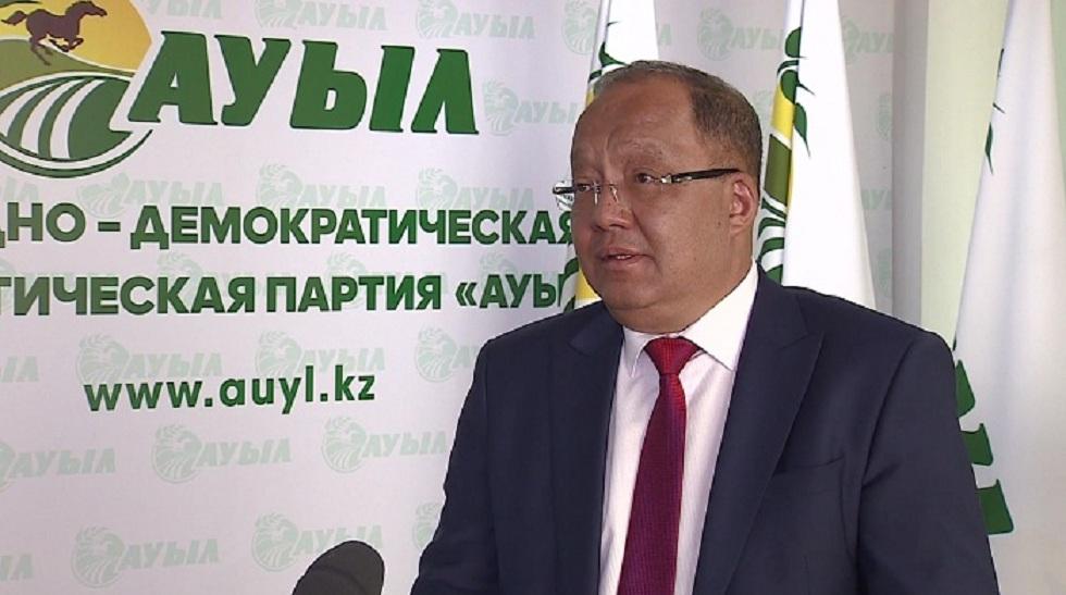 Төлеутай Рақымбеков сайлауалды үгіт-насихат жұмыстарын бастады