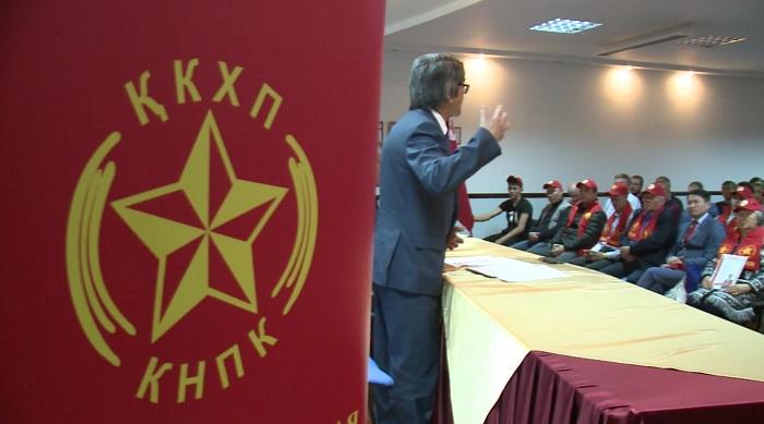 С машиностроителями Степногорска провели встречу сторонники Жамбыла Ахметбекова