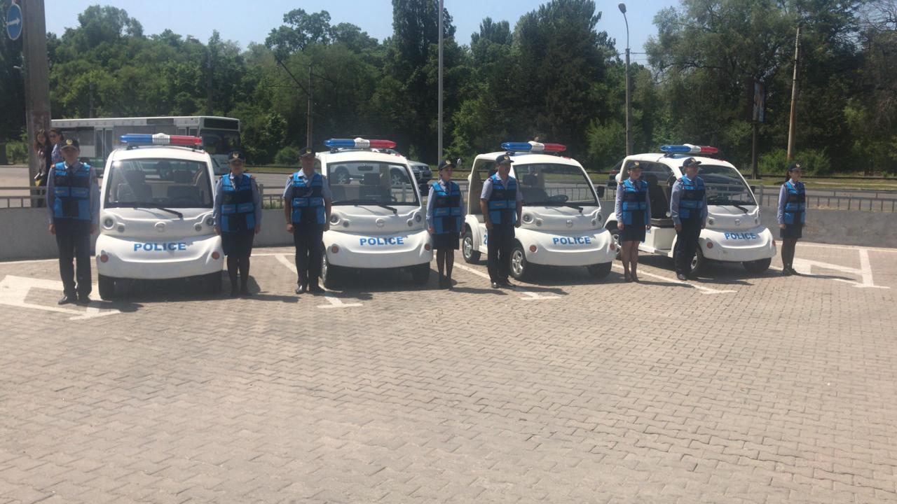Туристская полиция Алматы начинает нести службу на четырех объектах