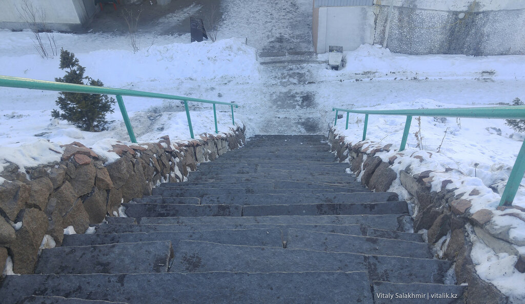 """""""Лестницу здоровья"""" на Медеу отремонтируют - Байбек"""