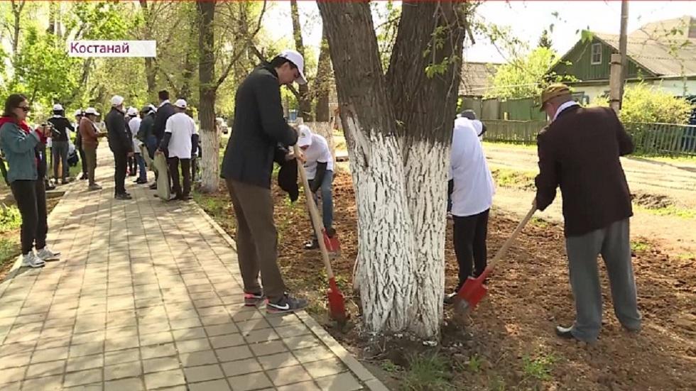 Представители штаба Толеутая Рахимбекова провели акцию «Посади свое дерево» во всех регионах страны