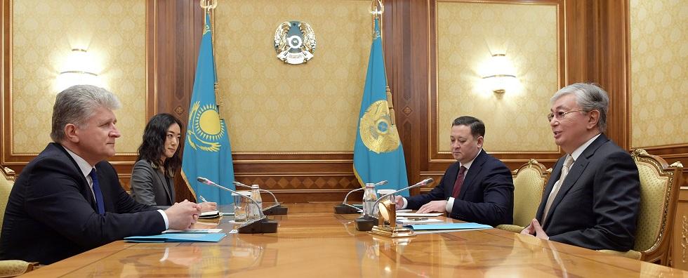 Касым-Жомарт Токаев встретился с помощником Генерального секретаря ООН