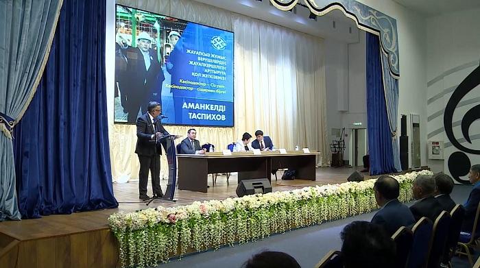 Штаб Таспихова встретился с работниками промышленных предприятий Актюбинской области