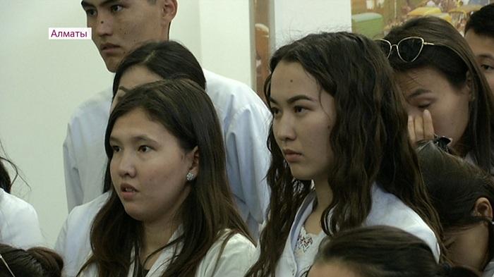 Студентам аграрного университета в Алматы представили программу кандидата Токаева