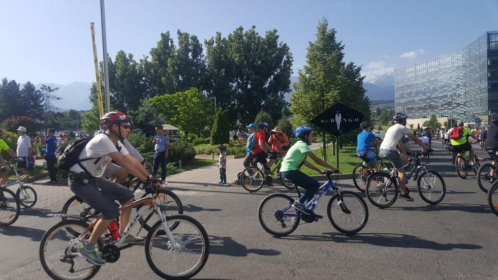 26 мая в Алматы состоится велопробег