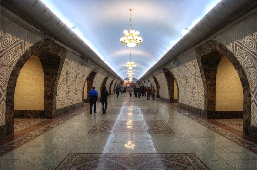 На станции метро «Алмалы» запустили бесплатный Wi-Fi