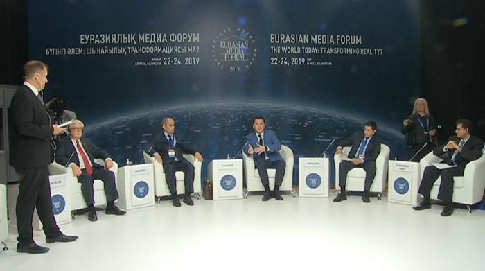 Более 400 участников из 43 стран собрал Евразийский Медиа форум в Алматы