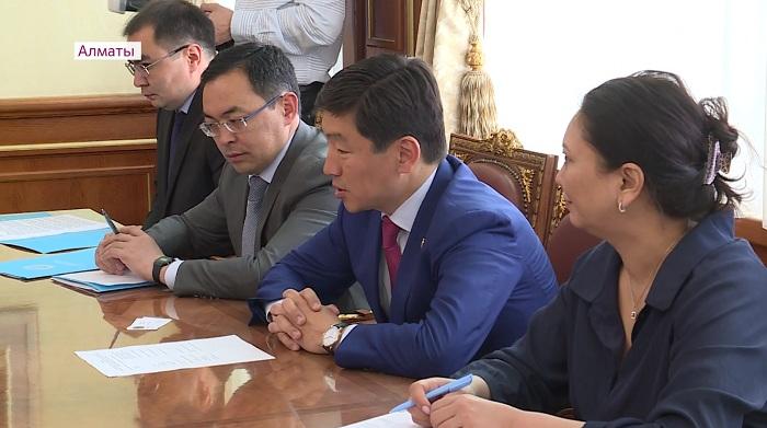 Бауыржан Байбек встретился с представителями ОБСЕ