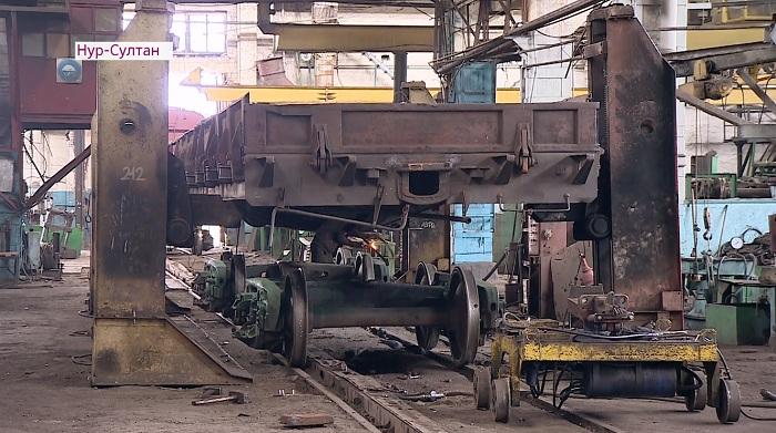 С сотрудниками вагоноремонтного завода встретились члены штаба Дании Еспаевой