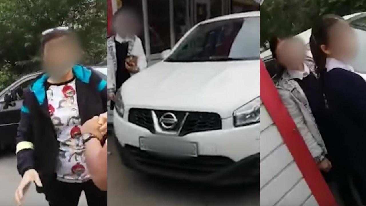В полиции Алматы прокомментировали инцидент с избиением женщины с грудным ребенком на руках