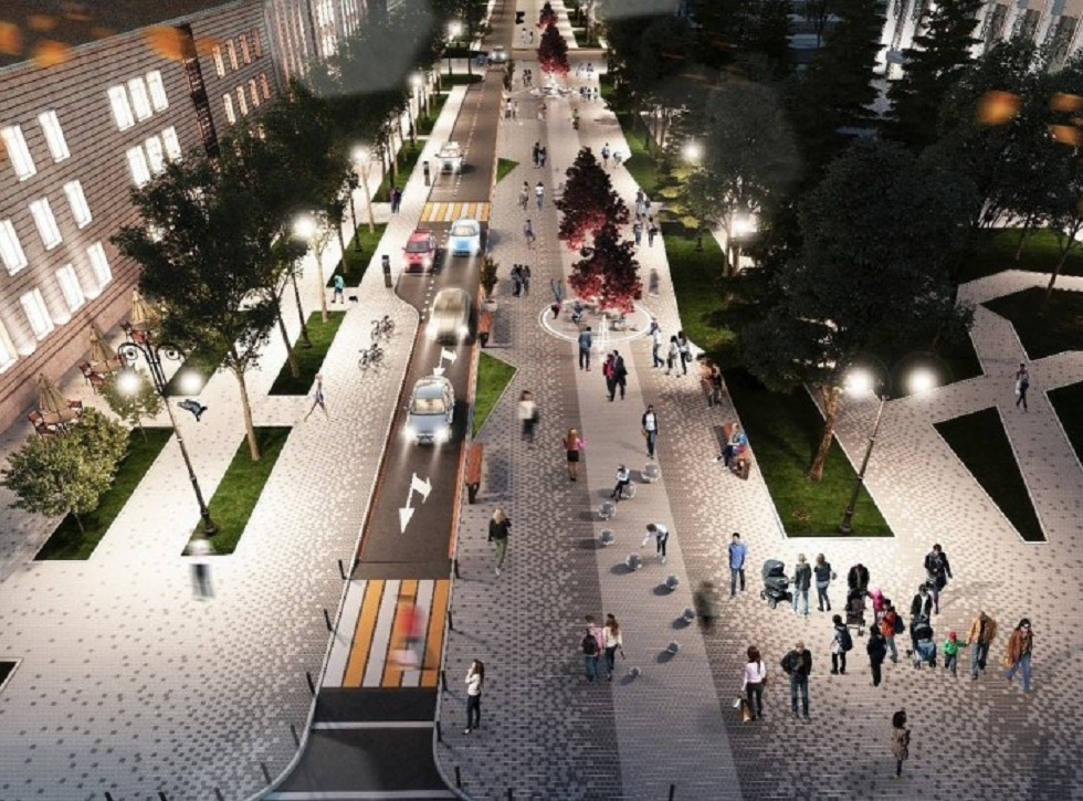 Как будут выглядеть центральные улицы Алматы после реконструкции (фото)