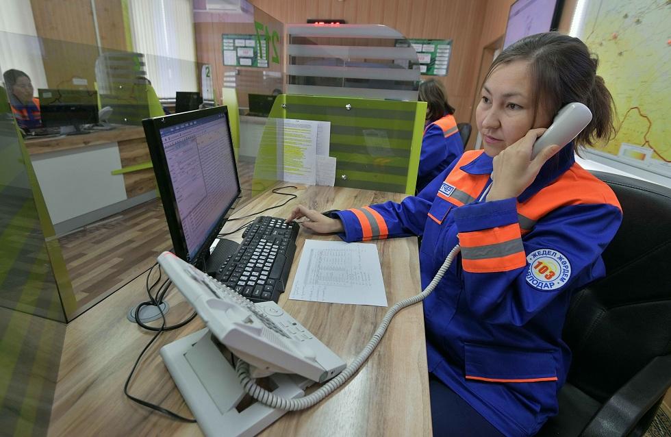 Функция удержания звонка появится на станции скорой помощи в Павлодарской области