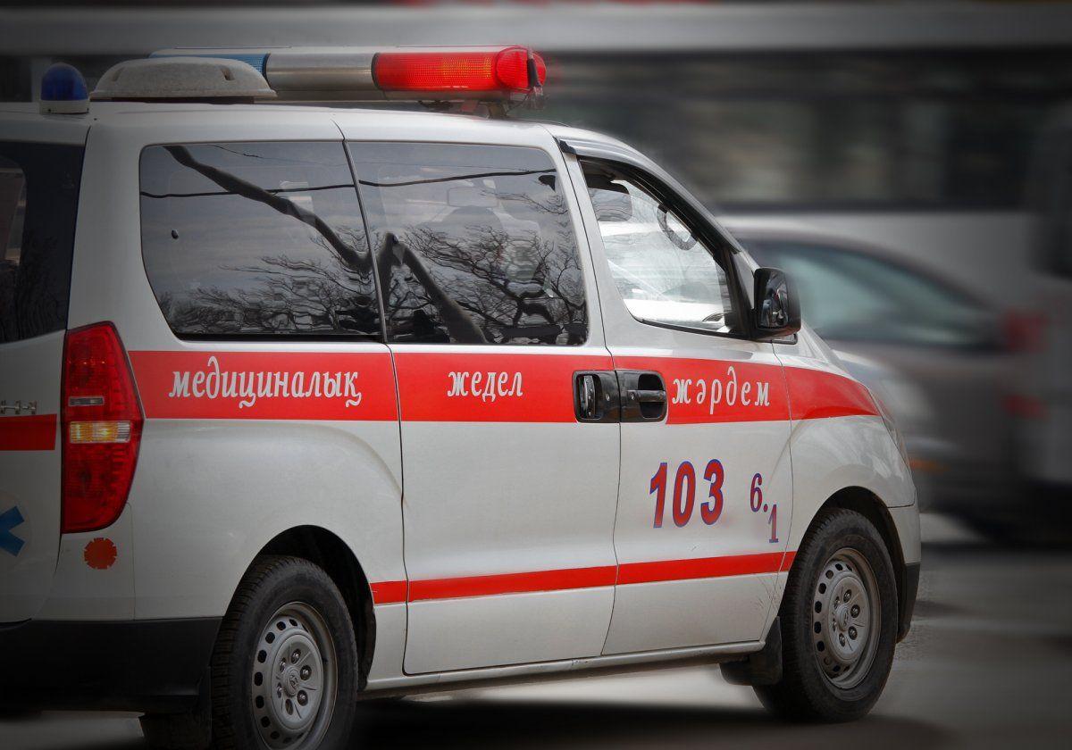6 детей сбил водитель иномарки в Шымкенте