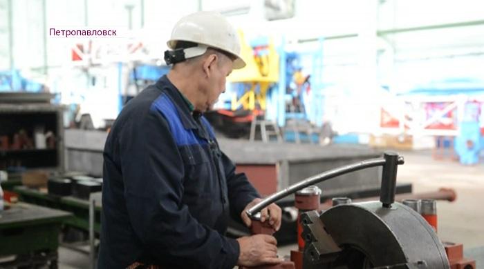 Дания Еспаева встретилась с коллективом машиностроительного завода Петропавловска