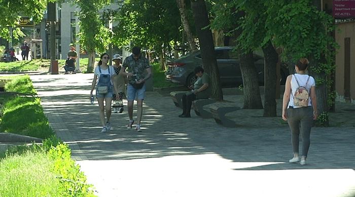 В Алматы реконструируют пешеходные зоны по Достык, Жибек жолы и Байсеитовой