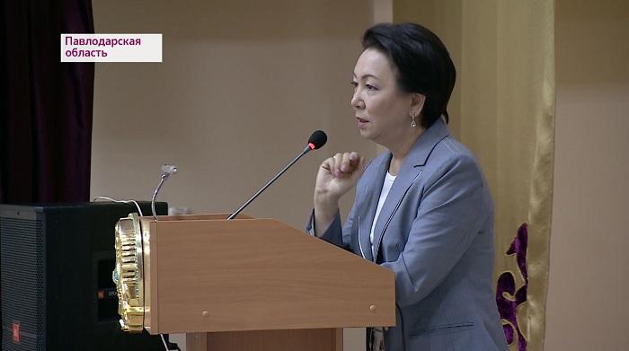 Дания Еспаева провела встречу с жителями Павлодарской области