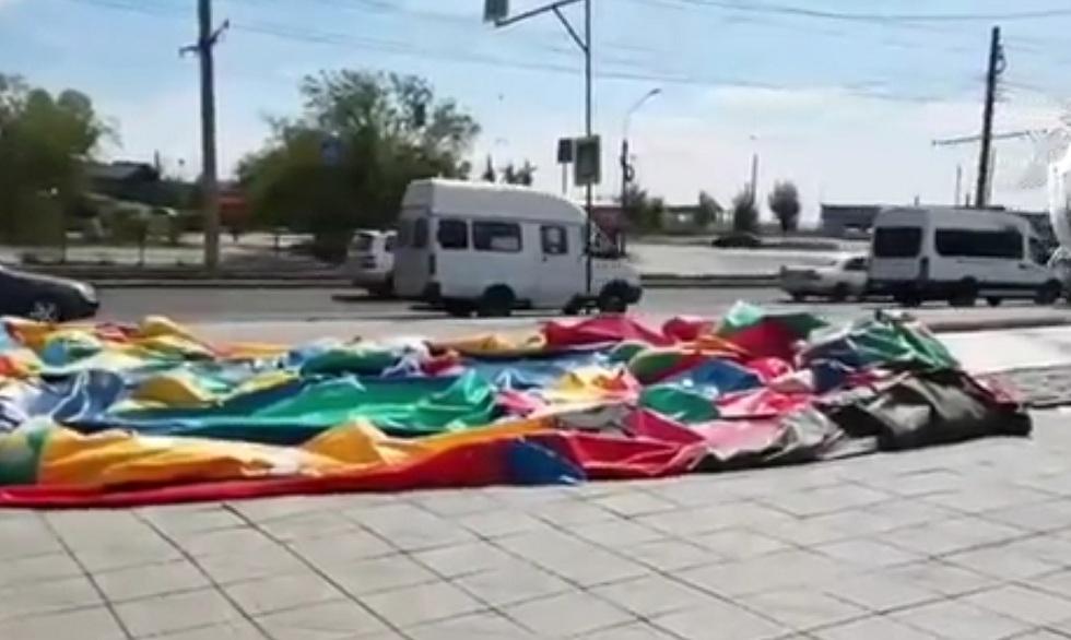 ЧП с батутом в Улан-Удэ: есть пострадавшие