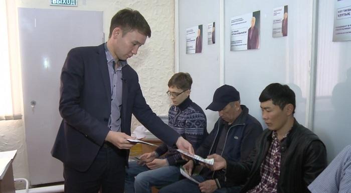 С жителями СКО встретились представители Амиржана Косанова
