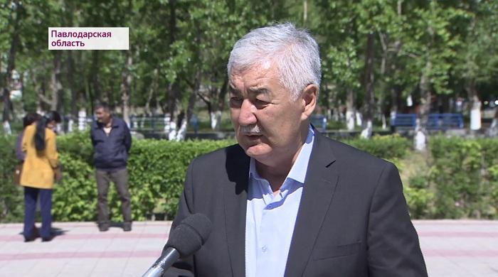Амиржан Косанов прибыл в Павлодарскую область