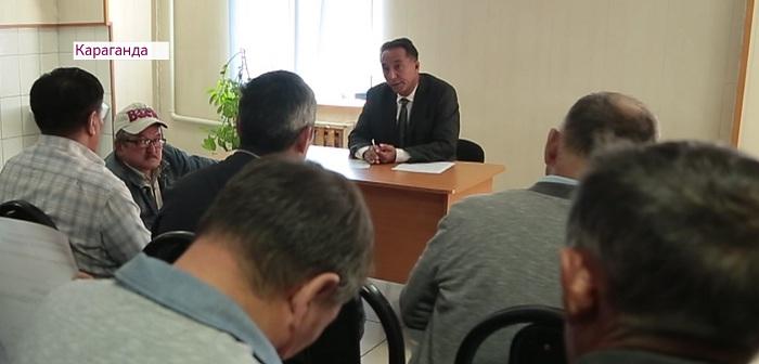 Штаб Амиржана Косанова знакомит жителей Караганды со своим кандидатом