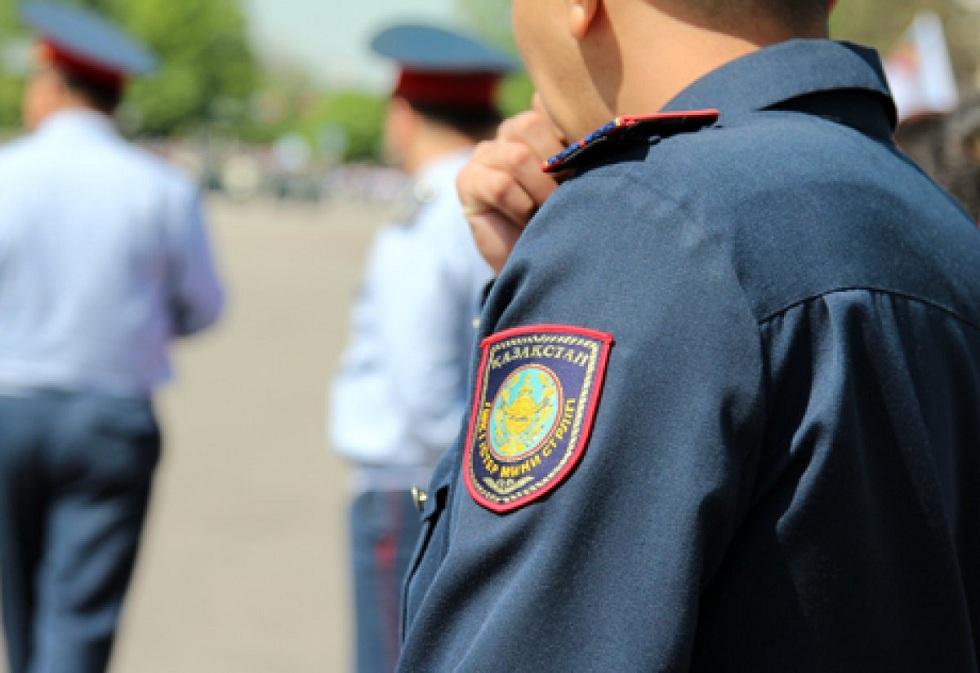 Полиция Казахстана перейдет на усиленный режим несения службы с 7 июня