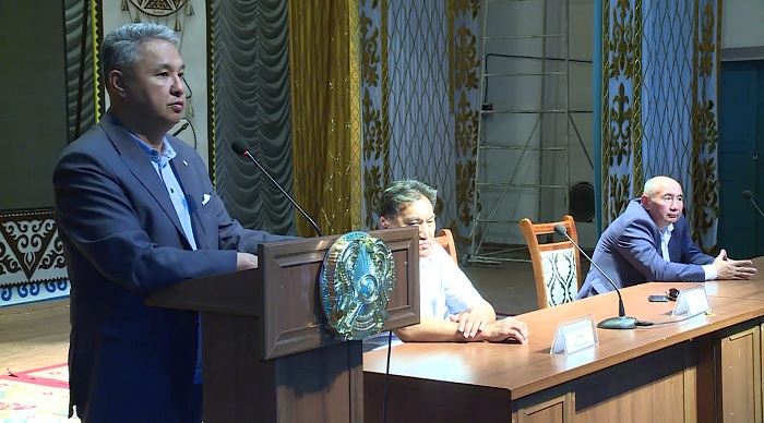 Предвыборный штаб Дании Еспаевой провел агитационную работу в Жамбылской области