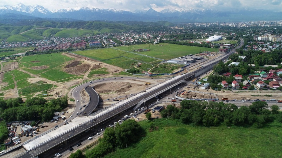 Движение по новой развязке на Кульджинке открыли в Алматы