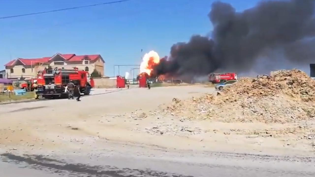 Произошел взрыв на АЗС в Шымкенте