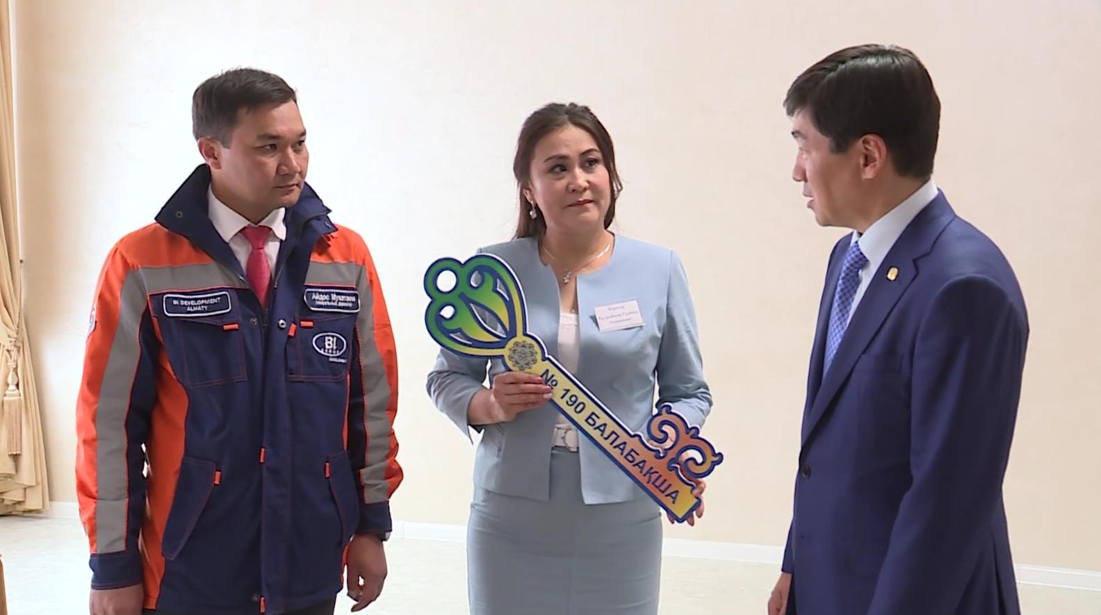 Новый детский сад открылся в Ауэзовском районе Алматы