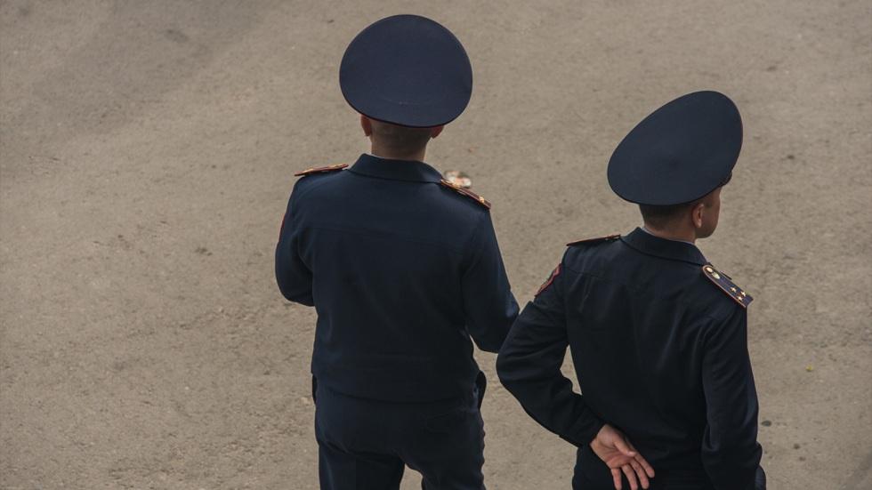 Казахстанские полицейские перешли на усиленный режим несения службы