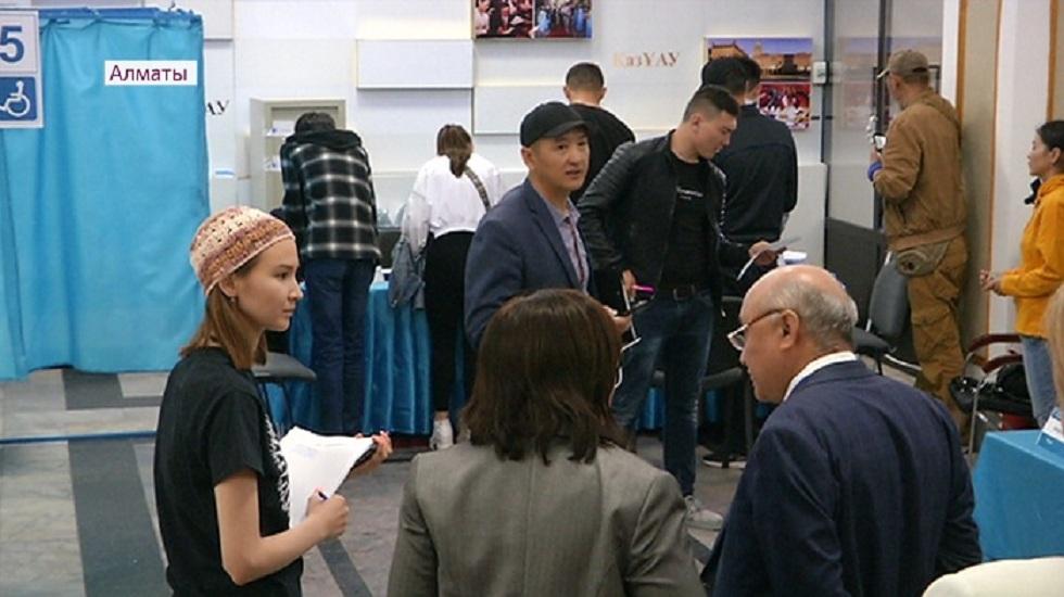 Количество голосующих на выборах в Алматы увеличилось