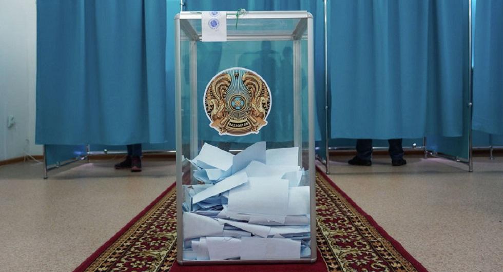 Выборы 2019: явка избирателей в Казахстане на 14:00 составила 51,8%