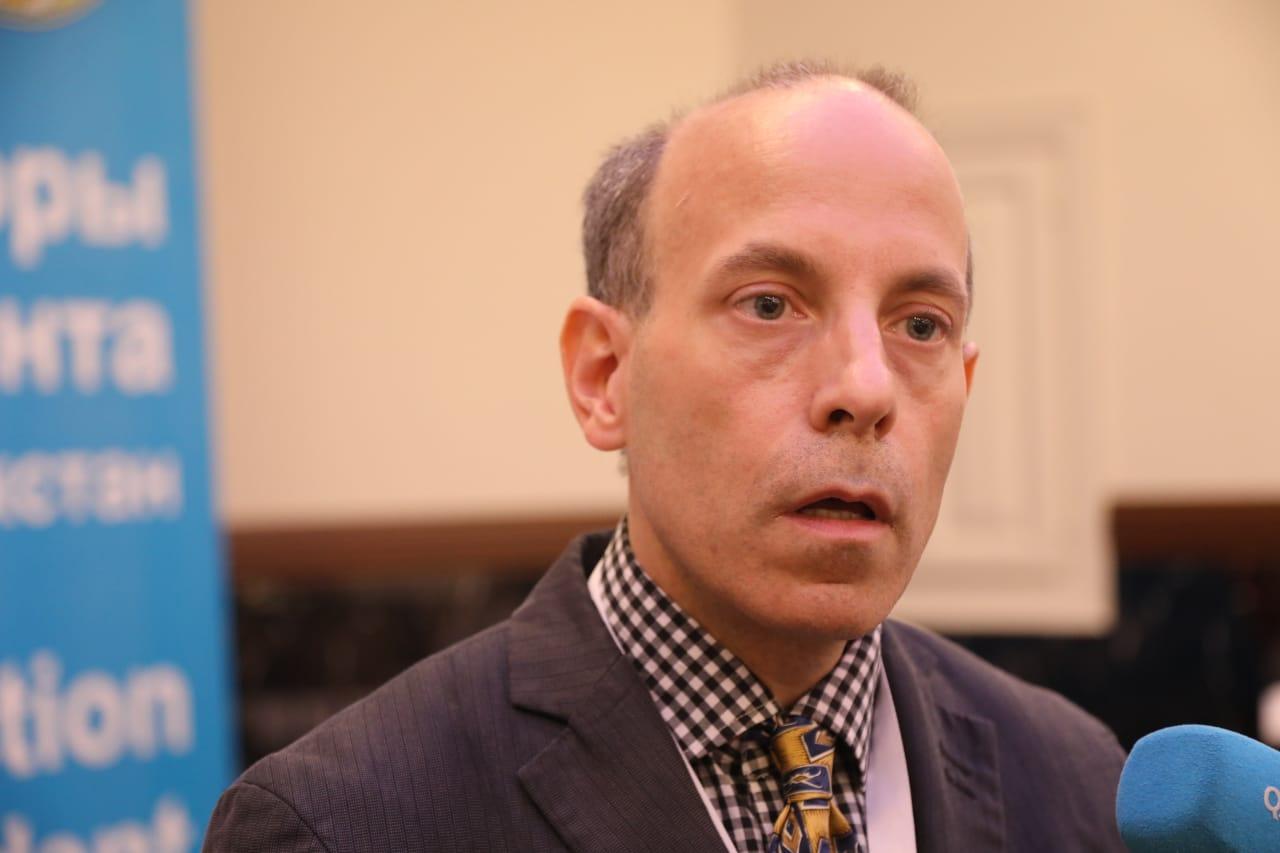 «Я был горд за участников» - эксперт из США Вайтц Ричард Уильям о выборах в РК