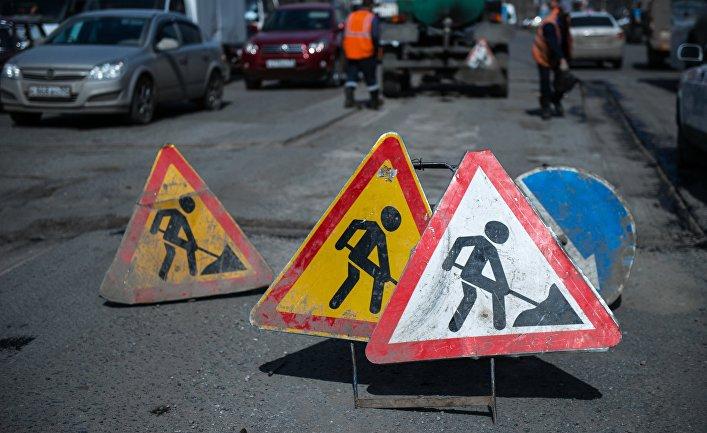 Улицу Толе би в Алматы частично закрывают на 5 недель