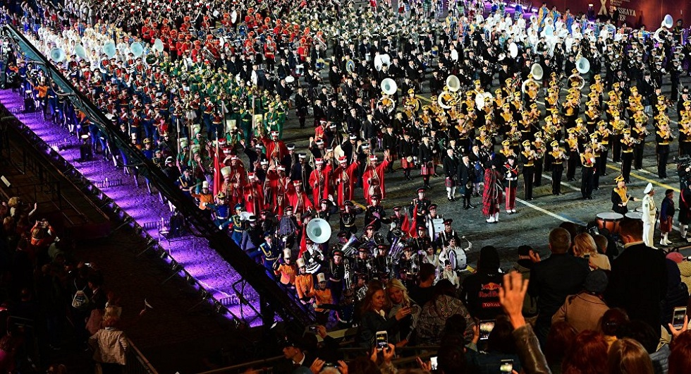 В Москве на Красной площади выступит оркестр Нацгвардии Казахстана