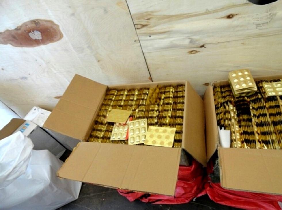 Более 80000 таблеток пытался провезти гражданин РФ через границу Казахстана