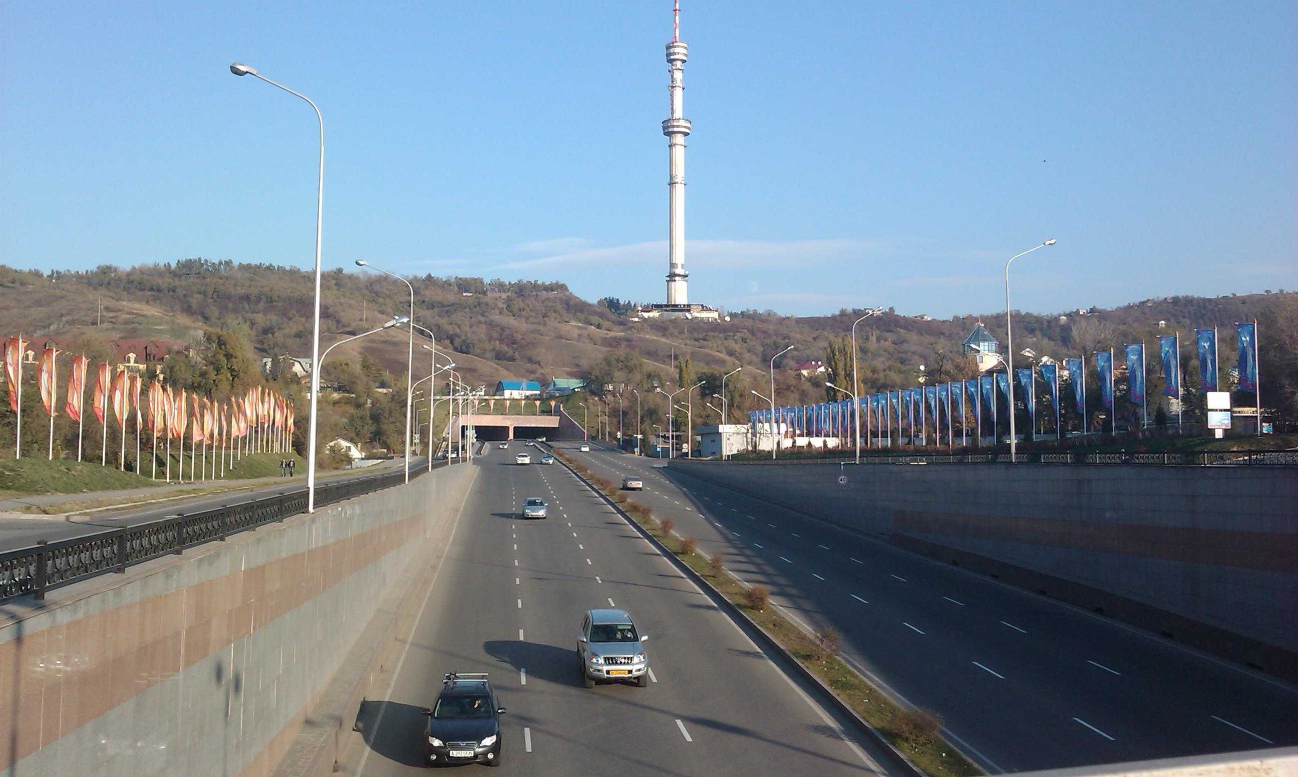 Тоннель на Достык-аль-Фараби частично перекроют в Алматы