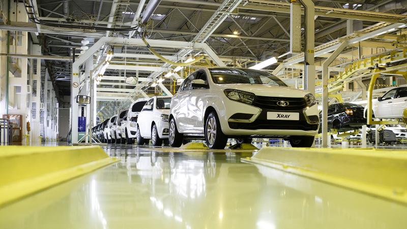 Объём производства автомобилей составил 83,9 миллиард тенге в Казахстане